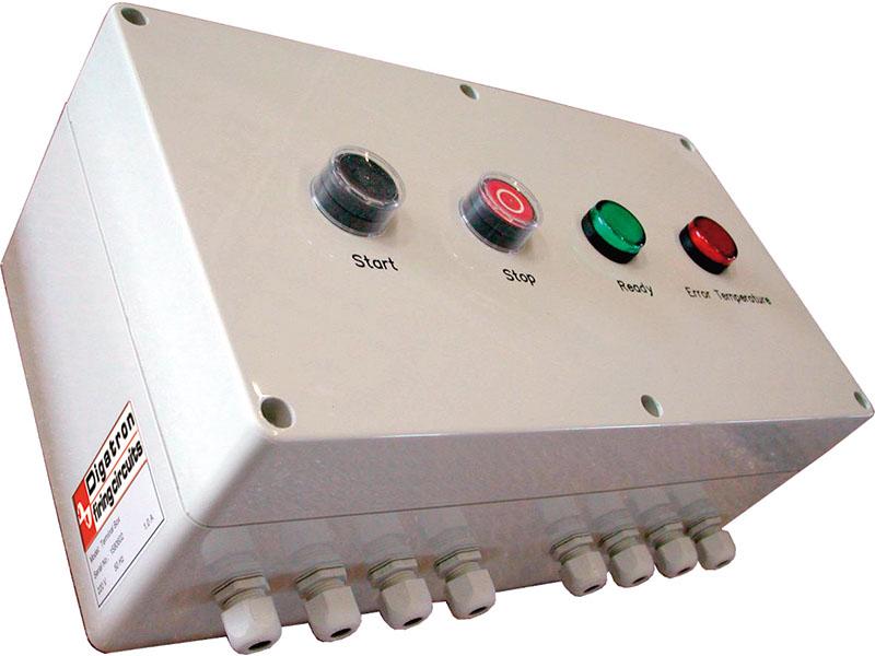 Wasserbadsteuerung, zur Temperaturmessung und Wasserstandprüfung in Wasserbäde