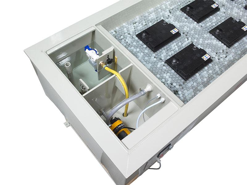 Wasserbad für Labore für den Temperaturausgleich während Batterietests