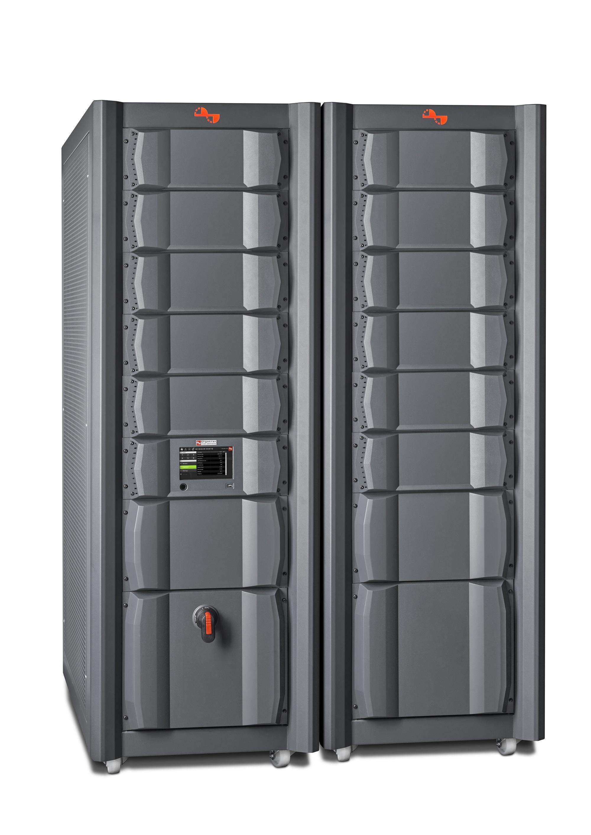 Digatron MCT-HD, energieeffizienter Batterieeinzelzellentester mit einzigartig hoher Packungsdichte, Doppelschrank
