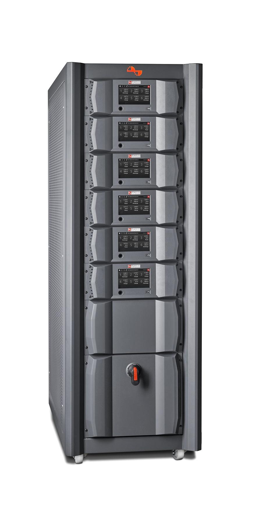 Digatron UBT-RE, Testssystem für Hochstromtests an Starterbatterien zwischen 10 und 40 Ampere, Einzelschrank