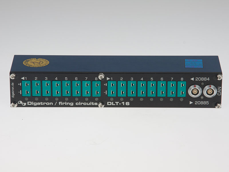 Module for use in harsh environments which measures the DUT temperature with 4, 8 or 16 channels